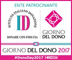 Ente patrocinante - Istituto Italiano della Donazione - Donare con fiducia - Giorno del dono 2017 - DonoDay2017