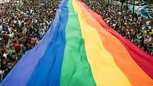 Bandiera colorata Arcigay