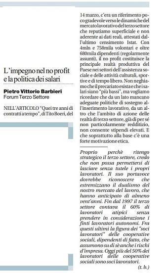 Risposta Boeri a Portavoce_18.03.2013