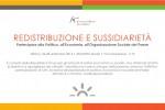 Redistribuzione e sussidiarietà partecipare alla politica, all'economia, all'organizzazione  sociale del paese