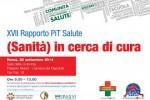 """Cittadinanzattiva - Presentato il XVII Rapporto Pit Salute """"(Sanità) in cerca di cura"""""""
