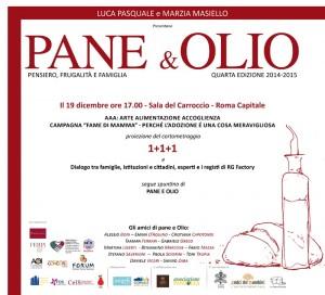 INVITO PANE E OLIO 19 DICEMBRE 2014