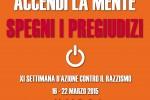 XI edizione della Settimana di azione contro il razzismo 16- 22 marzo 2015