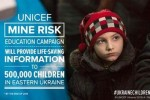 UNICEF: 109 bambini feriti e 42 uccisi da mine e ordigni in esplosi nell'Ucraina orientale