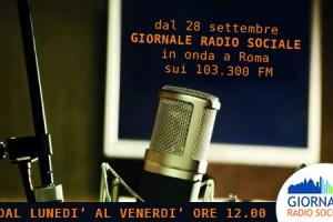 La comunicazione sociale radiofonica alza la voce: il Giornale Radio Sociale alle 12, in Fm a Roma sui 103.300