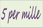5 per mille 2016 - Aperte le iscrizioni, esclusivamente online