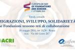 Migrazioni, sviluppo, solidarietà. Le Fondazioni tessono reti di collaborazione