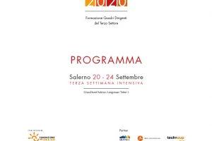 FQTS 2020 Salerno - Terza settimana intensiva di formazione