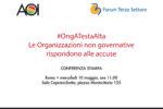 #OngATestaAlta: le organizzazioni non governative rispondono alle accuse