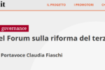 Welforum.it: intervista a Claudia Fiaschi