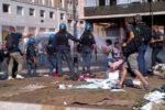 """Sgombero migranti a Roma, """"Atto violento contro chi non ha alternativa"""""""