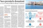 Il Sole24Ore del 27/11/2017: Il Fisco premia le donazioni