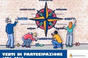 #VentidiPartecipazione: il 15 dicembre l'Assemblea del Forum Terzo Settore