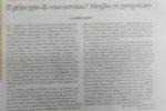 """""""Il principio di concorrenza? Meglio co-progettare"""", Buone Notizie - 29/05/2019"""