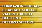 Formazioni sociali e capitale sociale. Valore e ruolo degli ETS