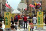 PALERMO 23.10.2011 – Palermo a fianco della campagna Every One di Save di Children per dire basta alla mortalità infantile. Per sostenerla un sms al 45509. Momenti dell'evento, in collaborazione con UISP (Unione Italiana Sport Per tutti). ANSA/FRANCO LANNINO