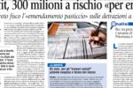 Avvenire - Non profit, 300 milioni a rischio «per errore» – 29 novembre 2018