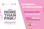 More Than Pink, a Matera la premiazione di progetti innovativi sulla salute e il benessere