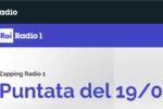 Radio Rai 1 - Zapping Radio 1 - Puntata del 19/03/2019