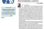Avvenire - Europa, investire sociale per invertire la rotta - di Claudia Fiaschi. 23 aprile 2019