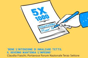 """5 per mille, Fiaschi (Forum): """"Bene intenzione di innalzare tetto, il Governo mantenga impegno"""""""