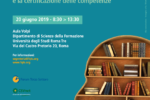 Il ruolo dell'università e del terzo settore per la formazione, lo sviluppo e la certificazione delle competenze