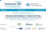 Finanza sostenibile e Terzo Settore