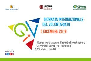 5 dicembre 2019 - Giornata internazionale del volontariato