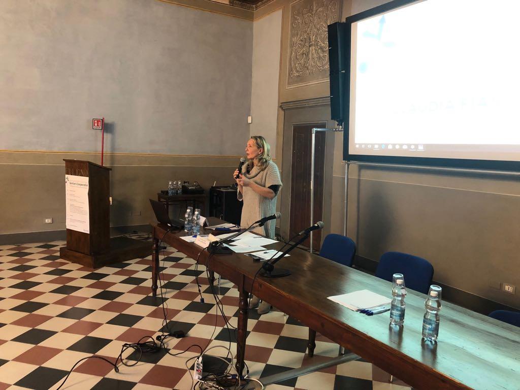 Claudia Fiaschi a convegno Confcooperative