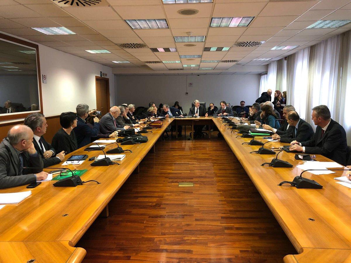 Seduta di insediamento del Consiglio nazionale