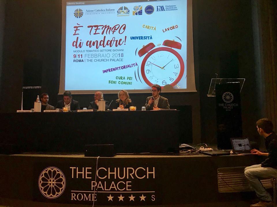 Claudia Fiaschi al convegno Azione cattolica - Febbraio 2018