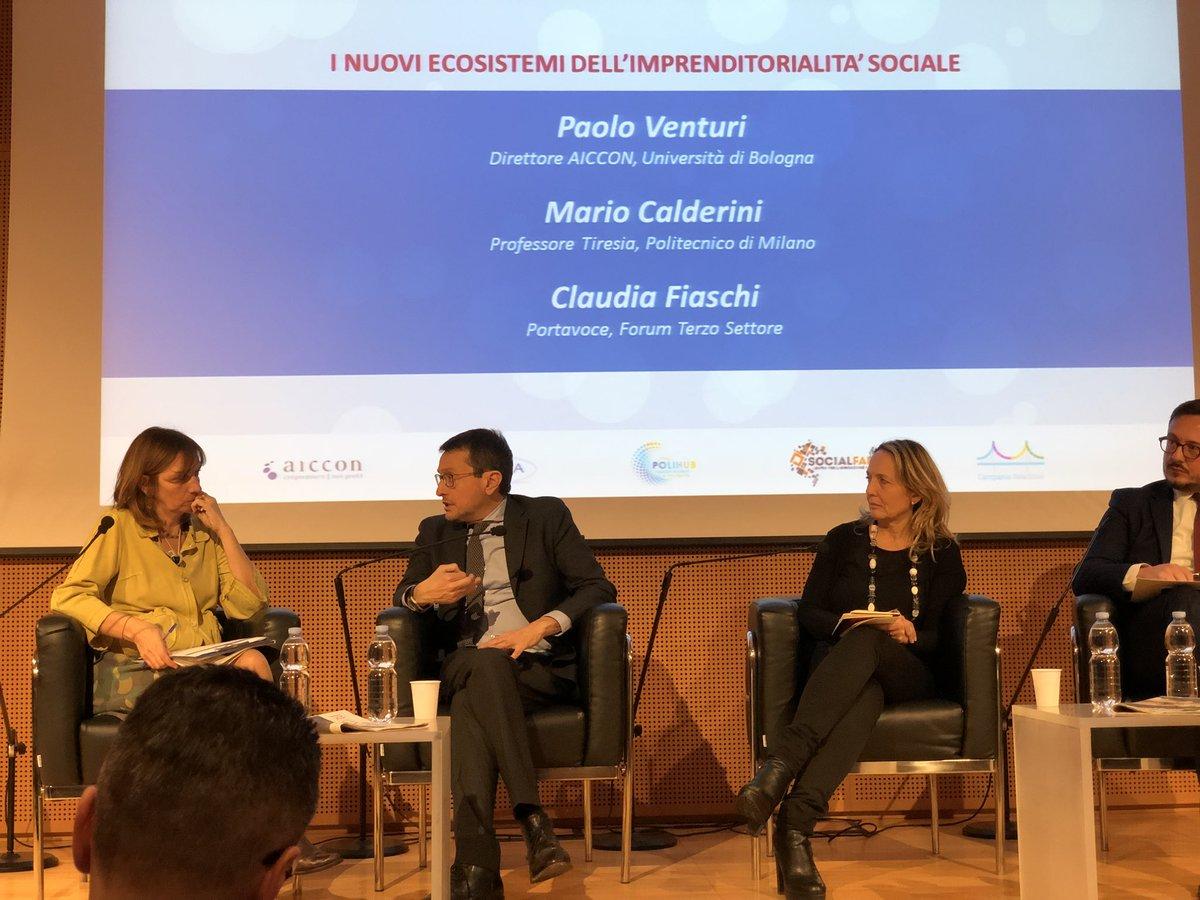 """Claudia Fiaschi a """"Welfare che impresa!"""" - Marzo 2018"""