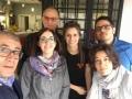 Riunione del Giornale Radio Sociale al Roxy Bar, con Maurizio Mumolo